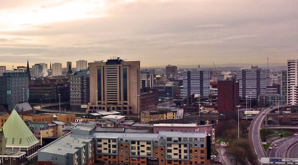 Photo of Glasgow skyline