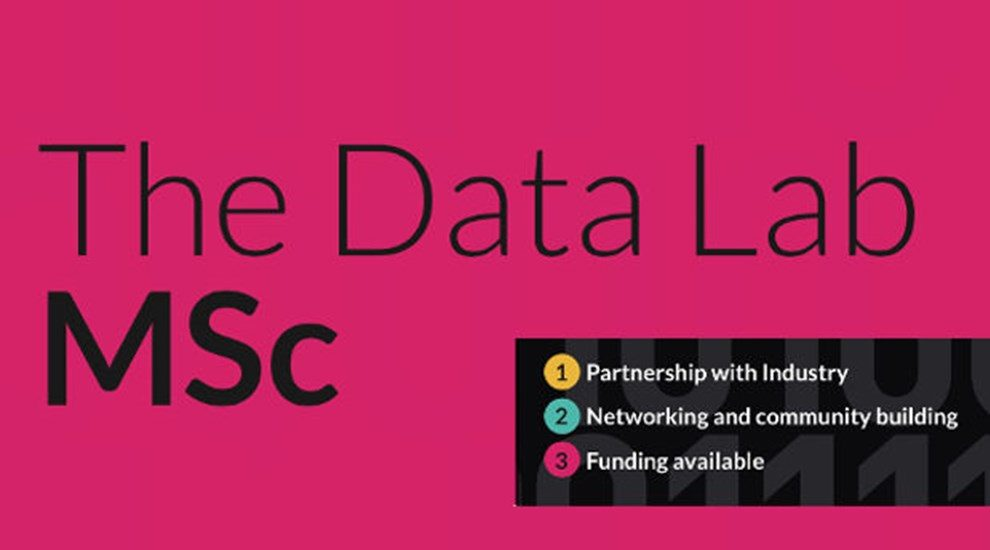 Banner for The Data Lab MSc